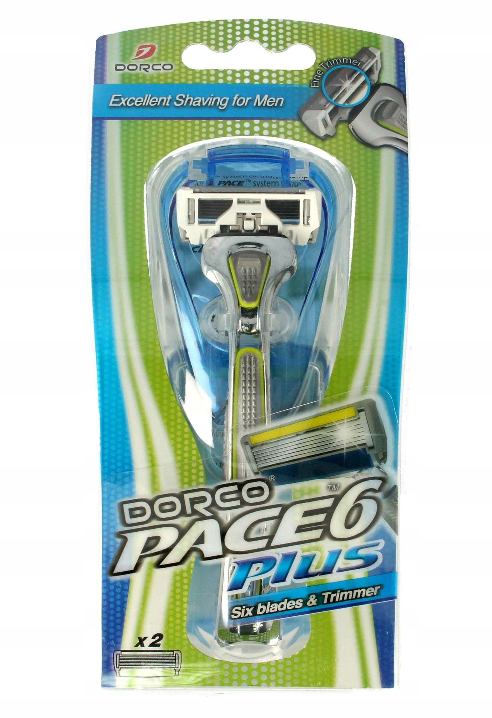 Dorco Pace 6 Plus Maszynka systemowa męska - 6 ost