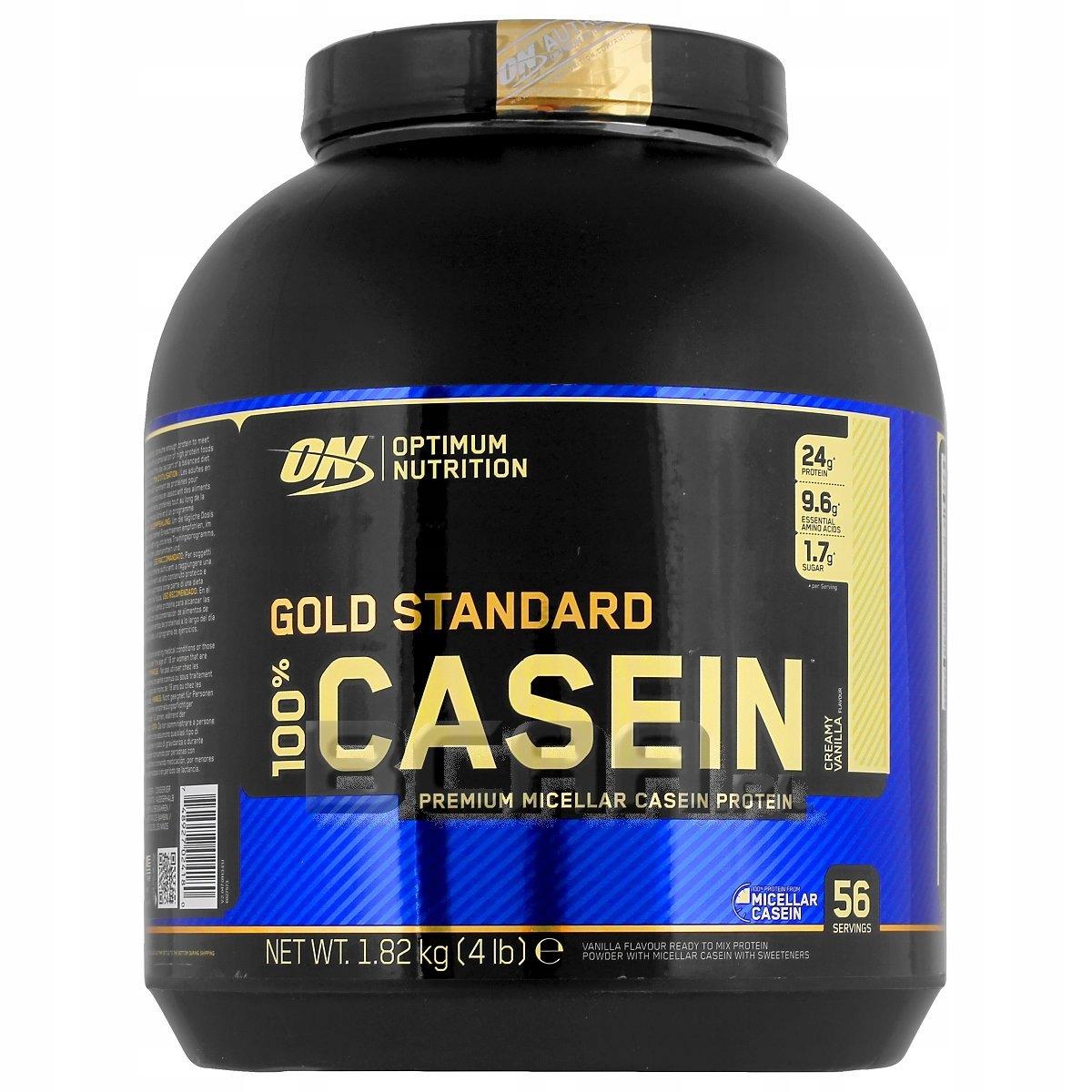 OPTIMUM NUTRITION 100% CASEIN KAZEINA 1,82kg