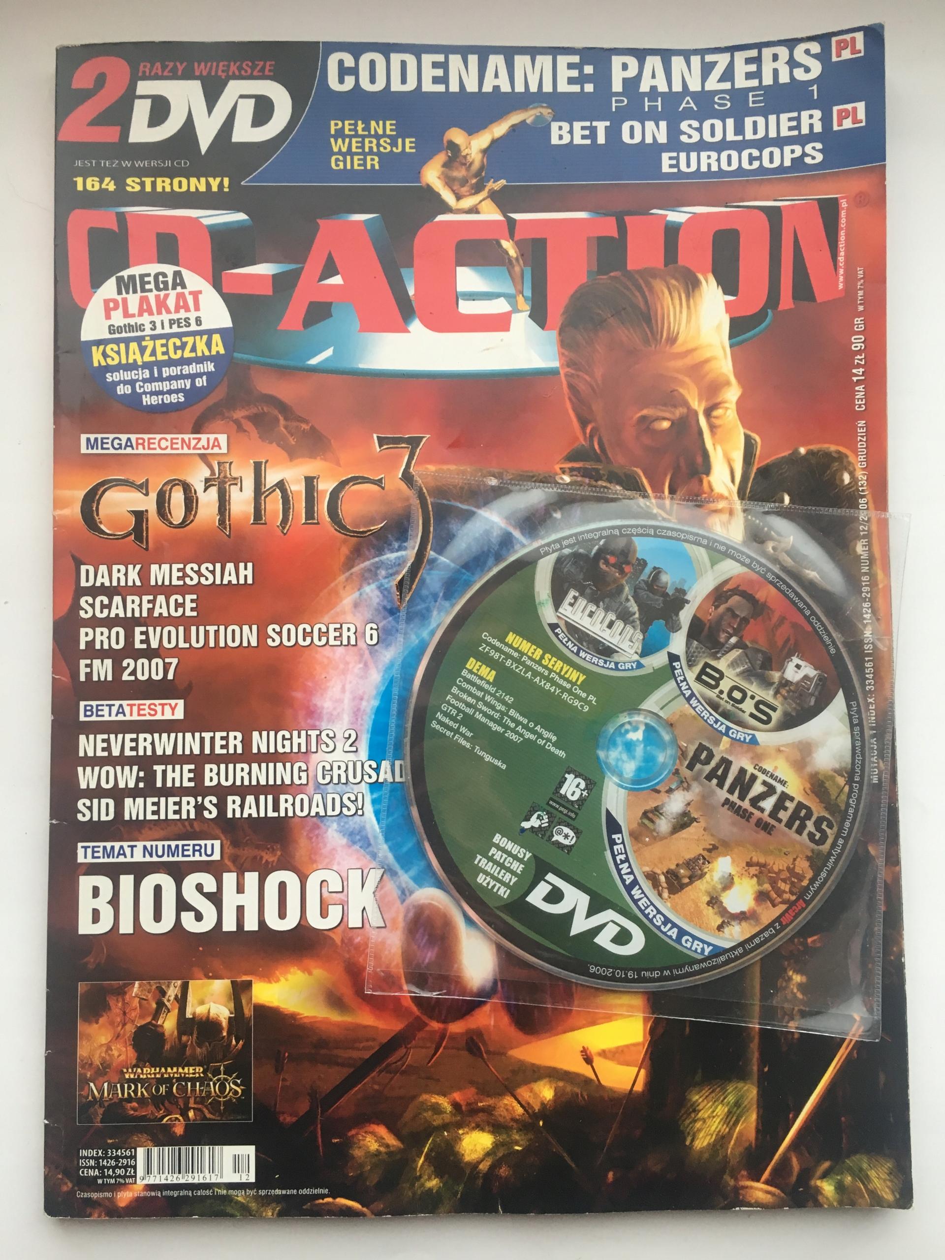 Cd Action Rocznik 2006/2012/2013 Gazeta + Płyta
