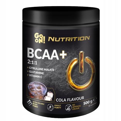 GO ON NUTRITION BCAA 500 g COLA
