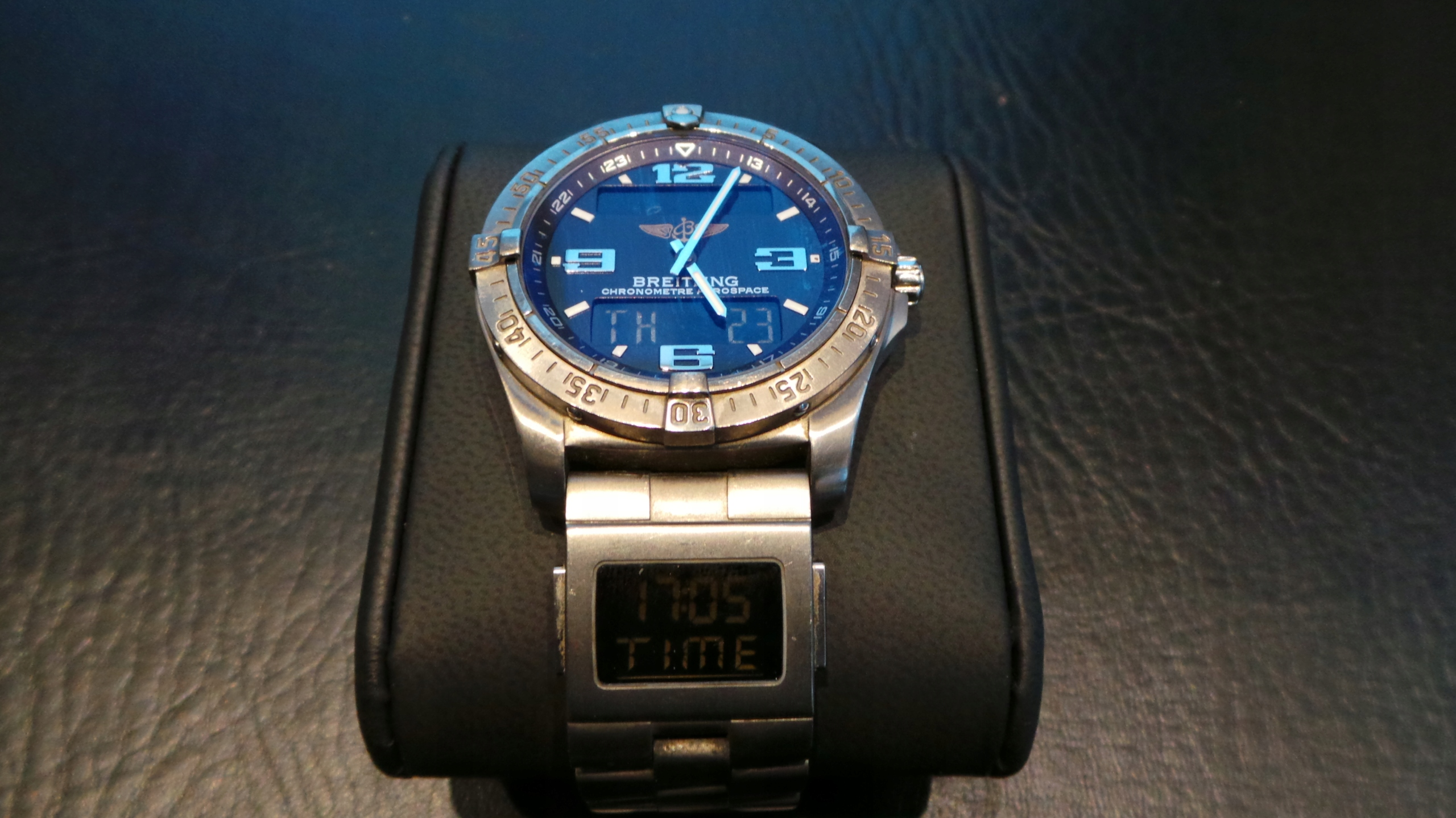 Zegarek BREITLING AREOSPACE z modułem CO-PILOT