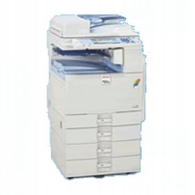 Ricoh MP C2050 ksero druk skan fax 59 000 kopii