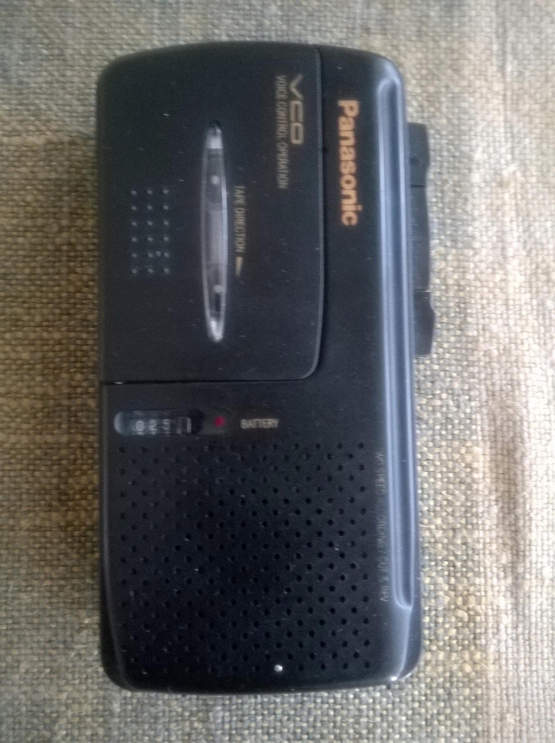 Dyktafon PANASONIC RN 550 V.