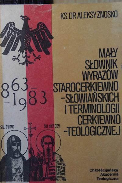 Mały Słownik Wyrazów Starocerkiewno - Znoskio 24h