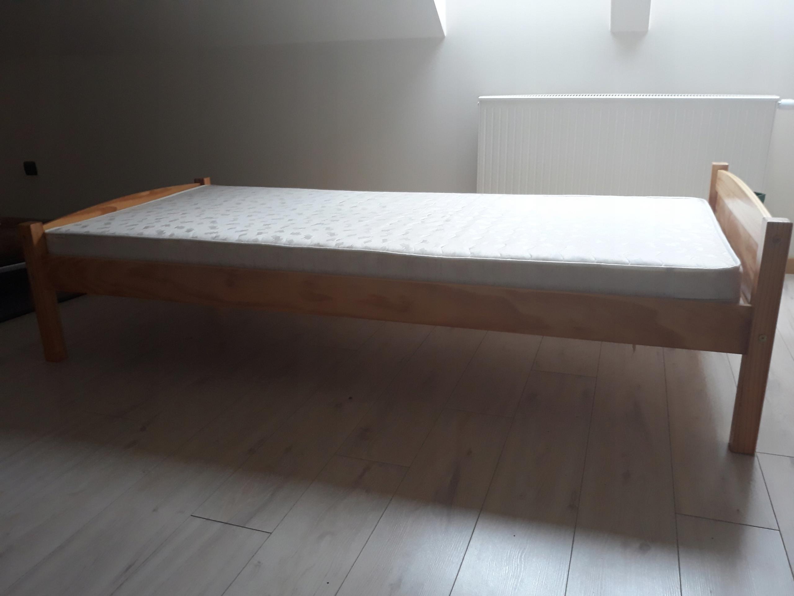 łóżko Jysk Z Materacem 90180 7887989911 Oficjalne