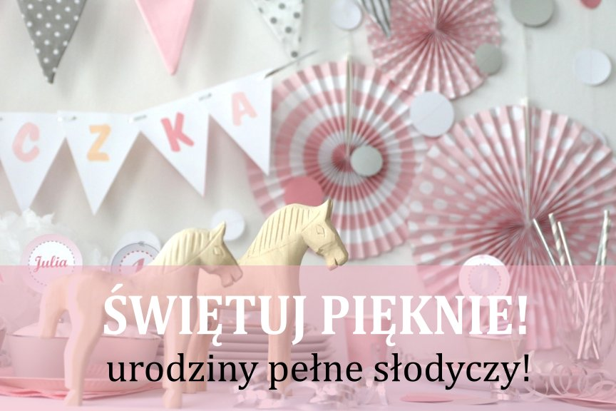 Duży Zestaw Dekoracje Urodzinowe Roczek Różowy Lux 7205523380