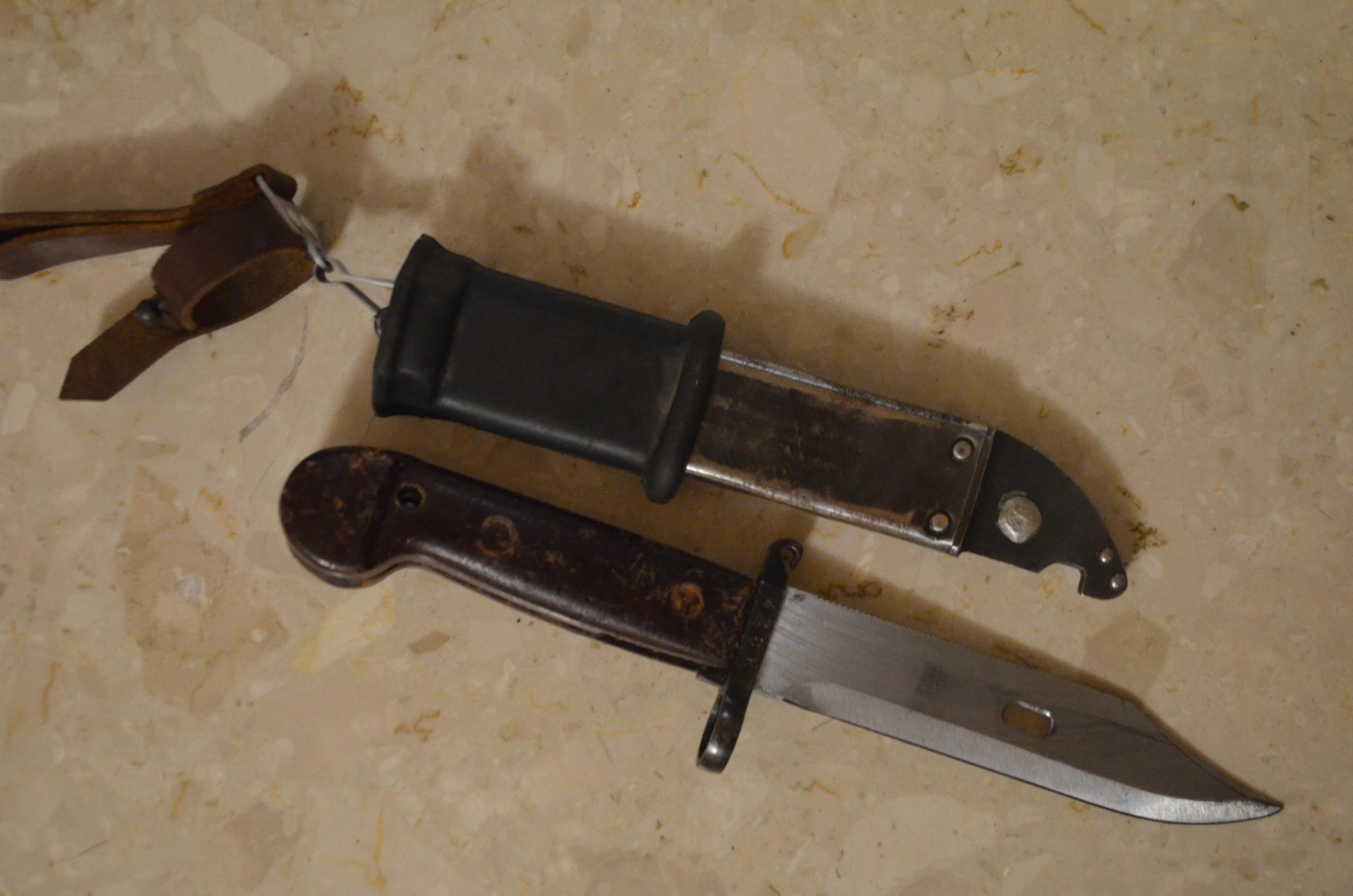 bagnet rumuński 6h3 AK zgodne numery