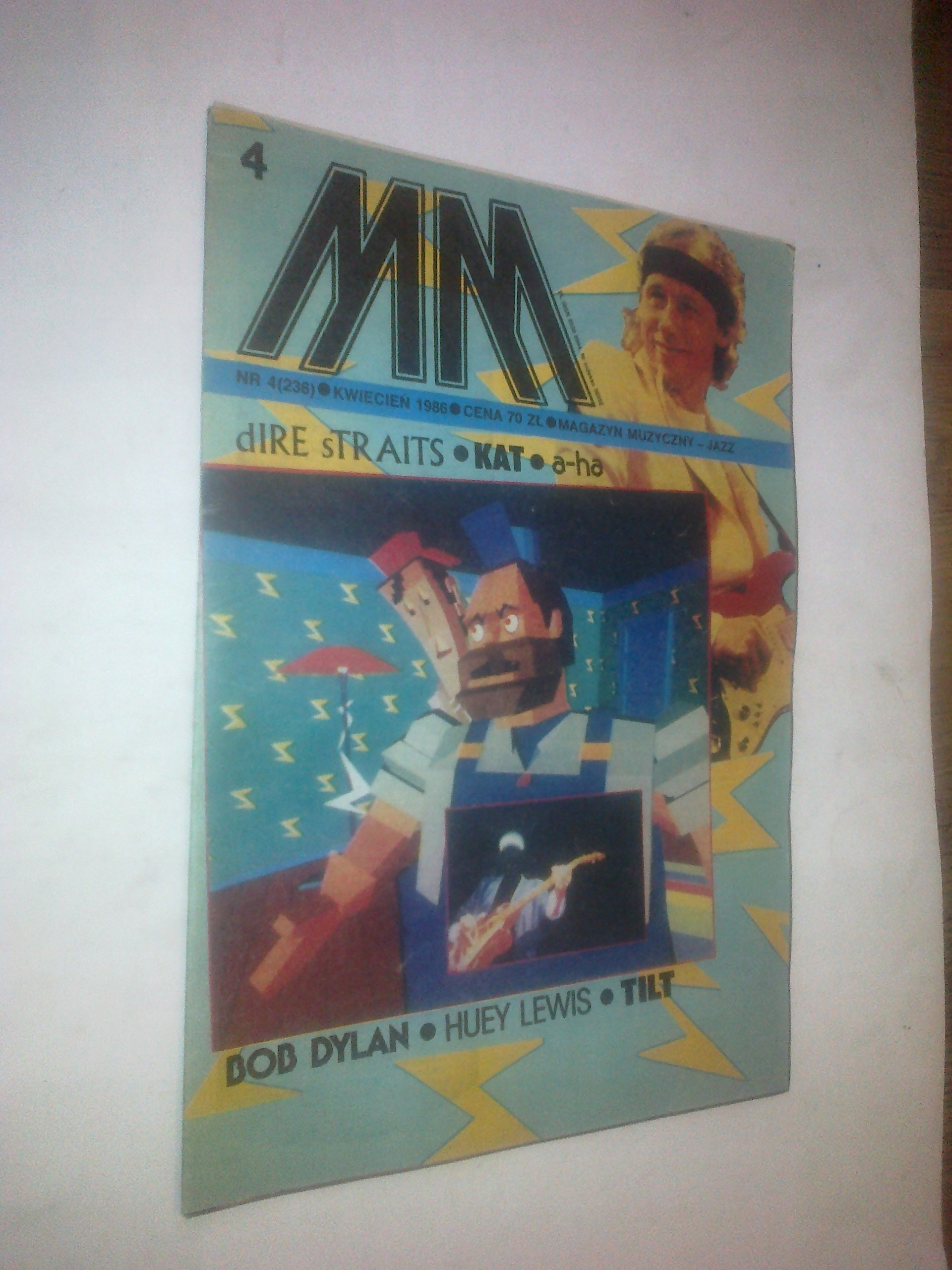 Mm Magazyn Muzyczny Jazz 41986 Plakat Tilt
