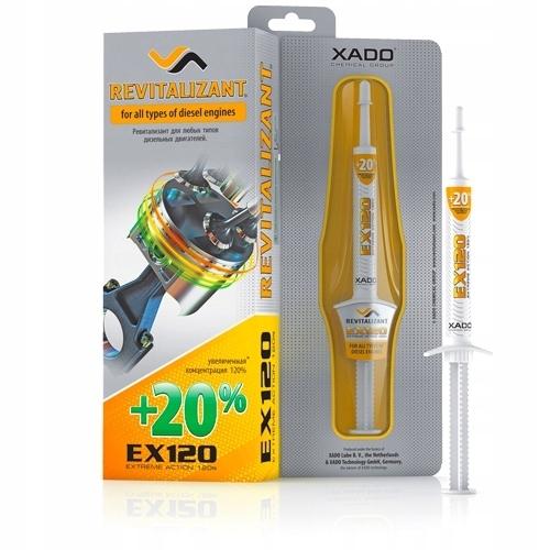 XADO rewitalizant EX120 do silników diesla