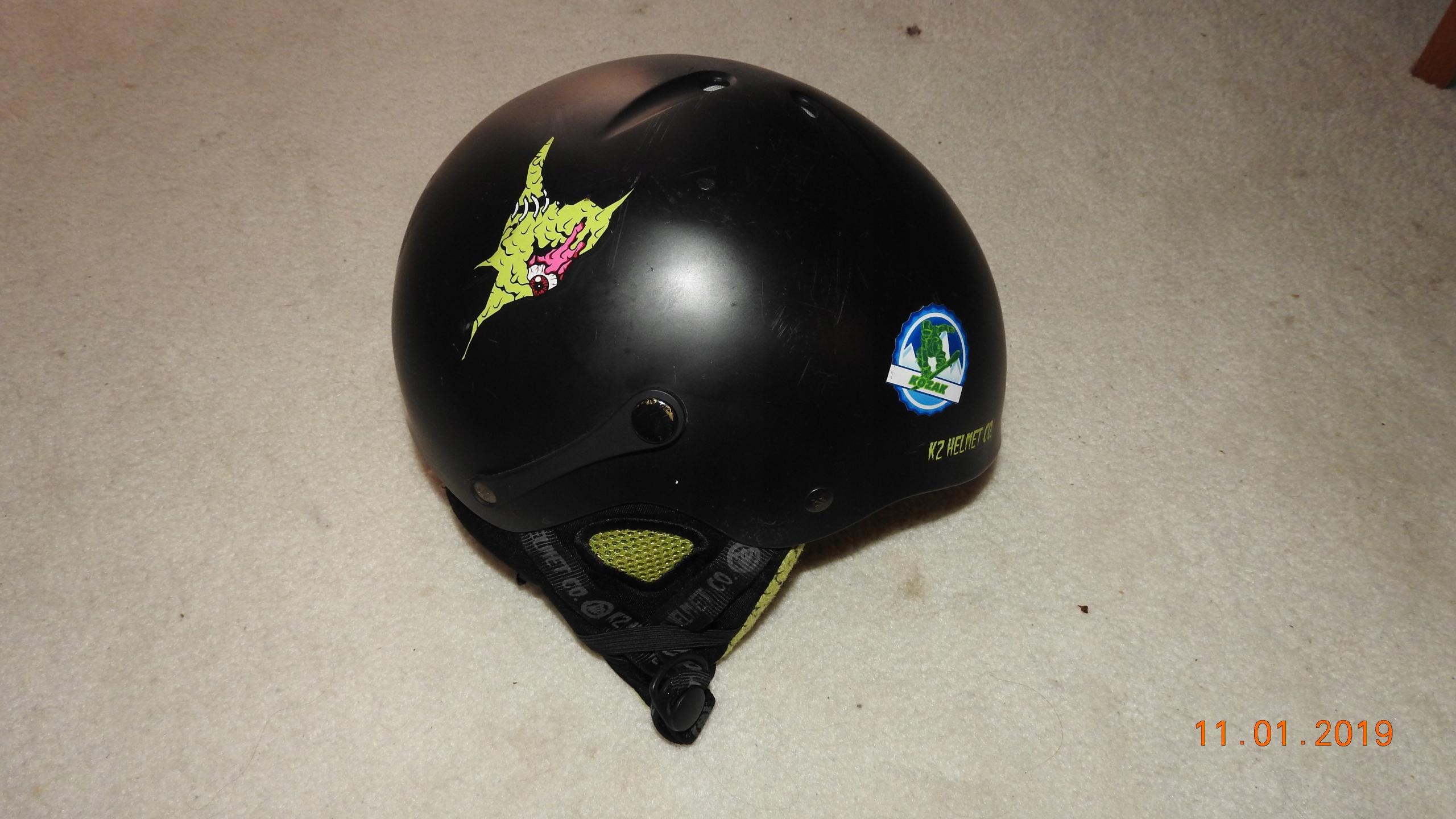 Kask snowbordowo-narciarski K2 Shadow Black Slime