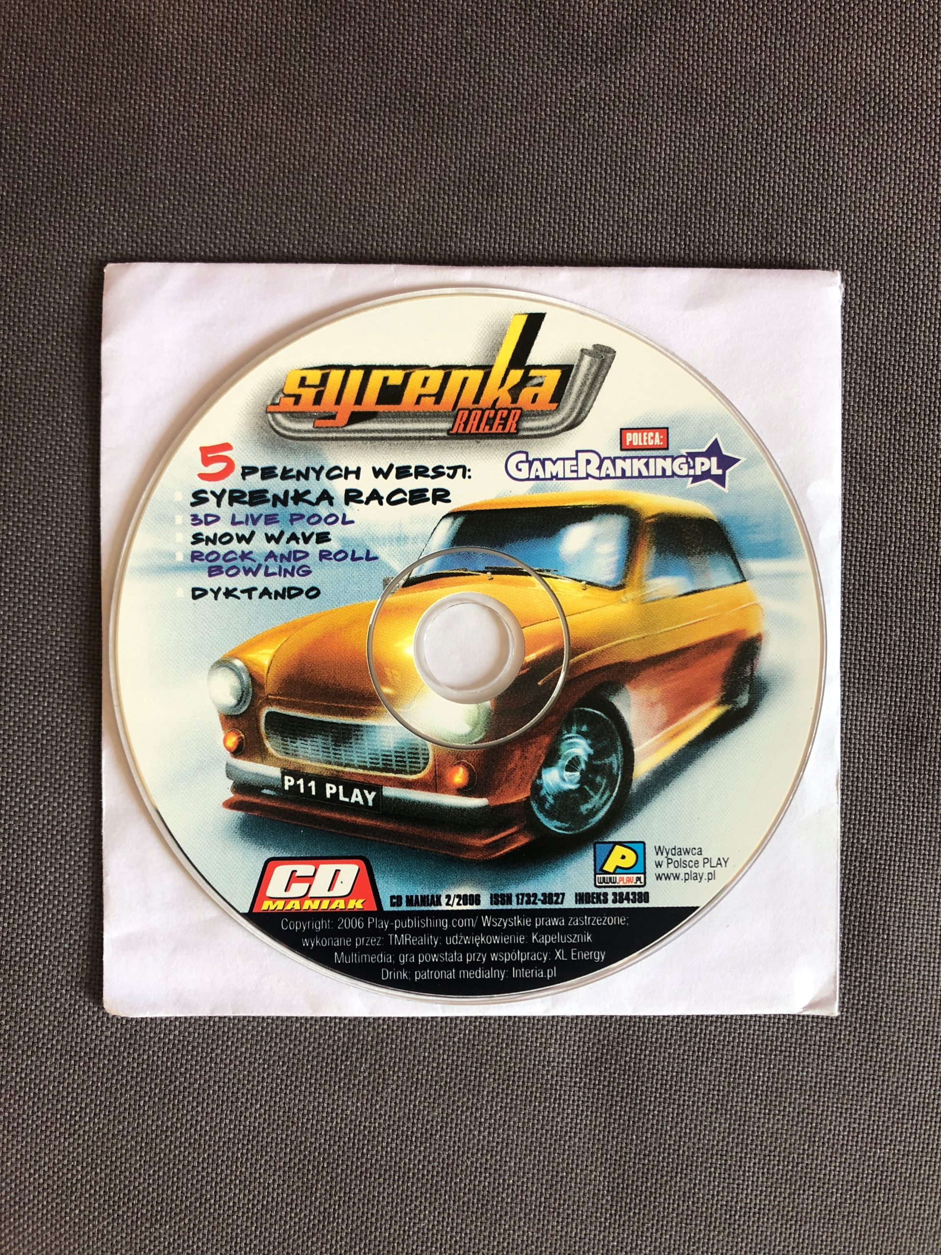 Syrenka Racer * gra komputerowa PC *
