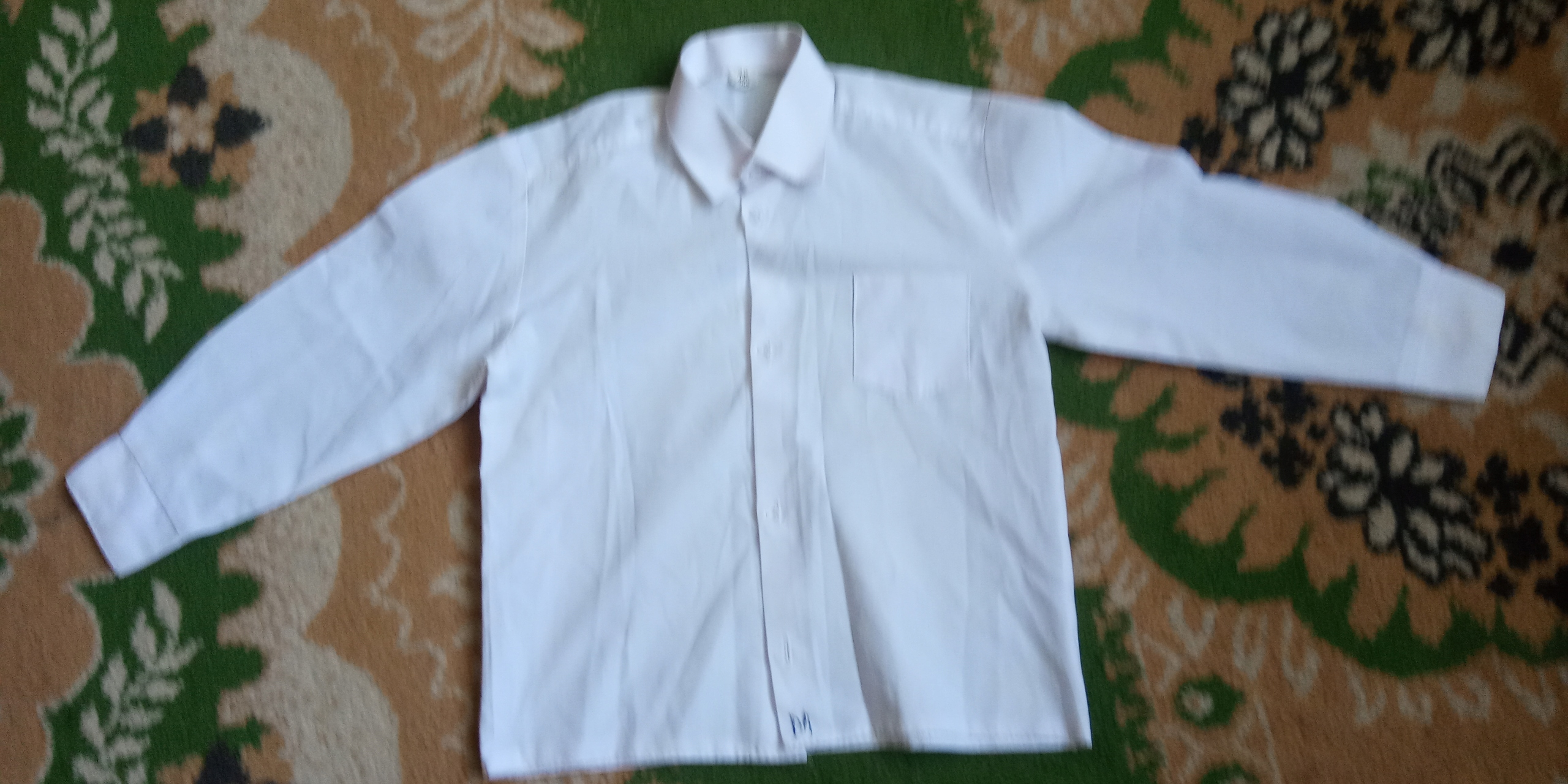 Koszula biała r. 104 chłopak 3-4 lata