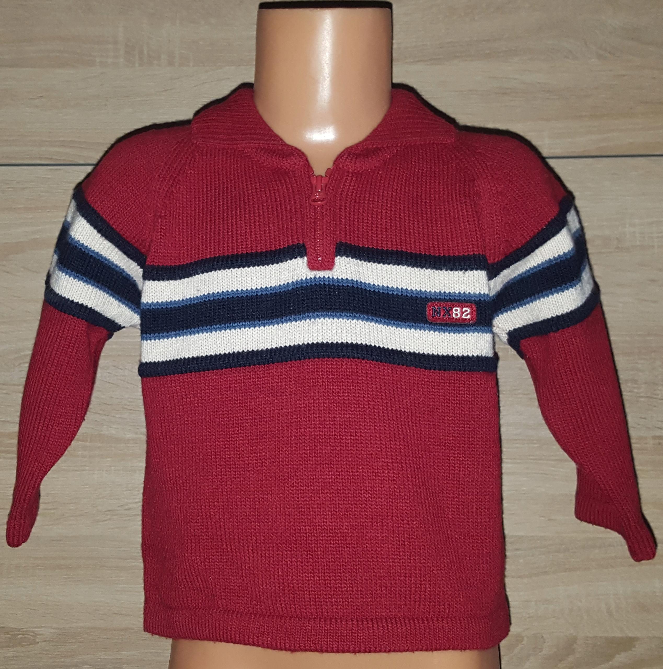 Sweter chłopięcy NEXT na 12-18 mies 86 cm.