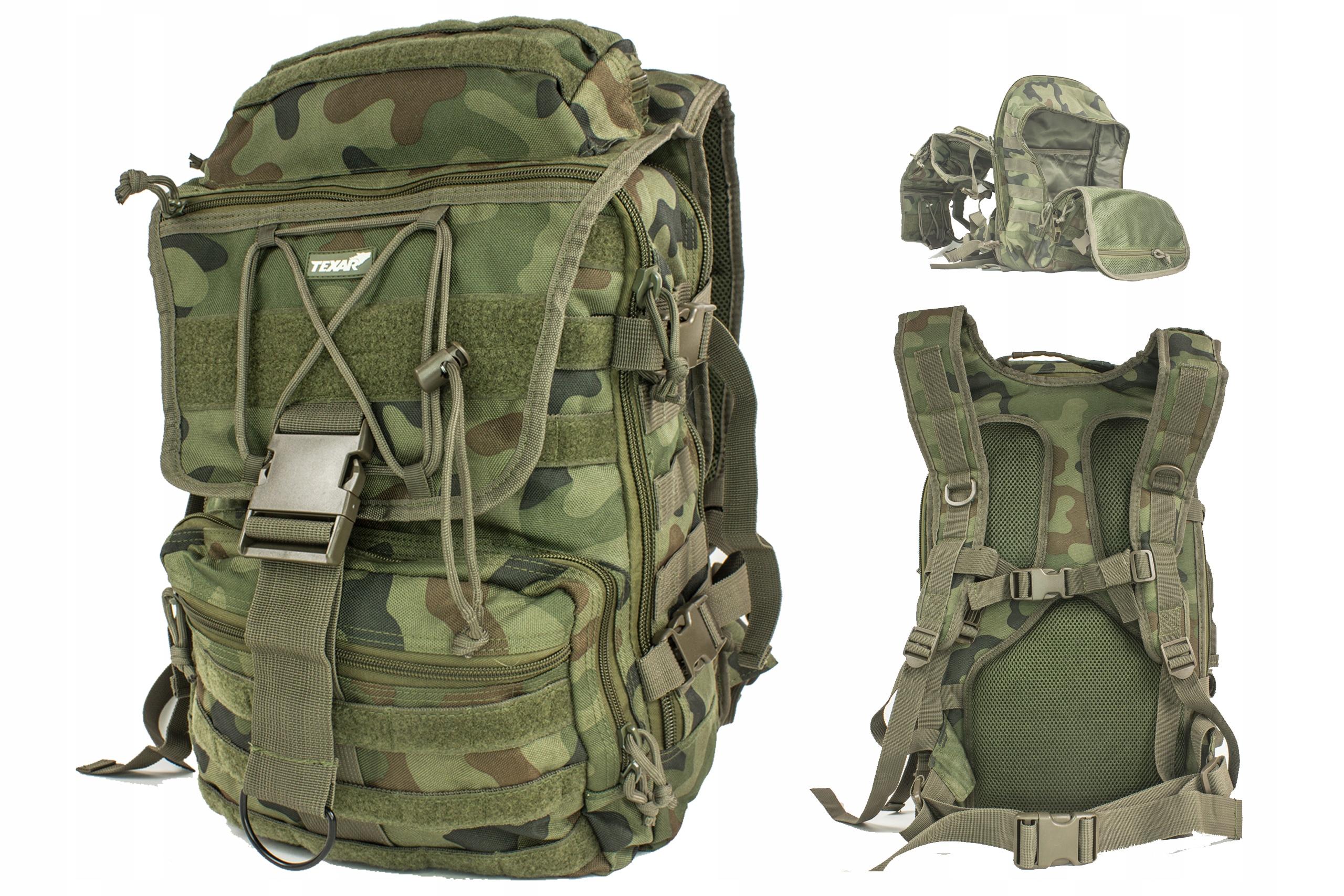 Plecak Wojskowy Traper Texar 35L Wz93 Pl Camo
