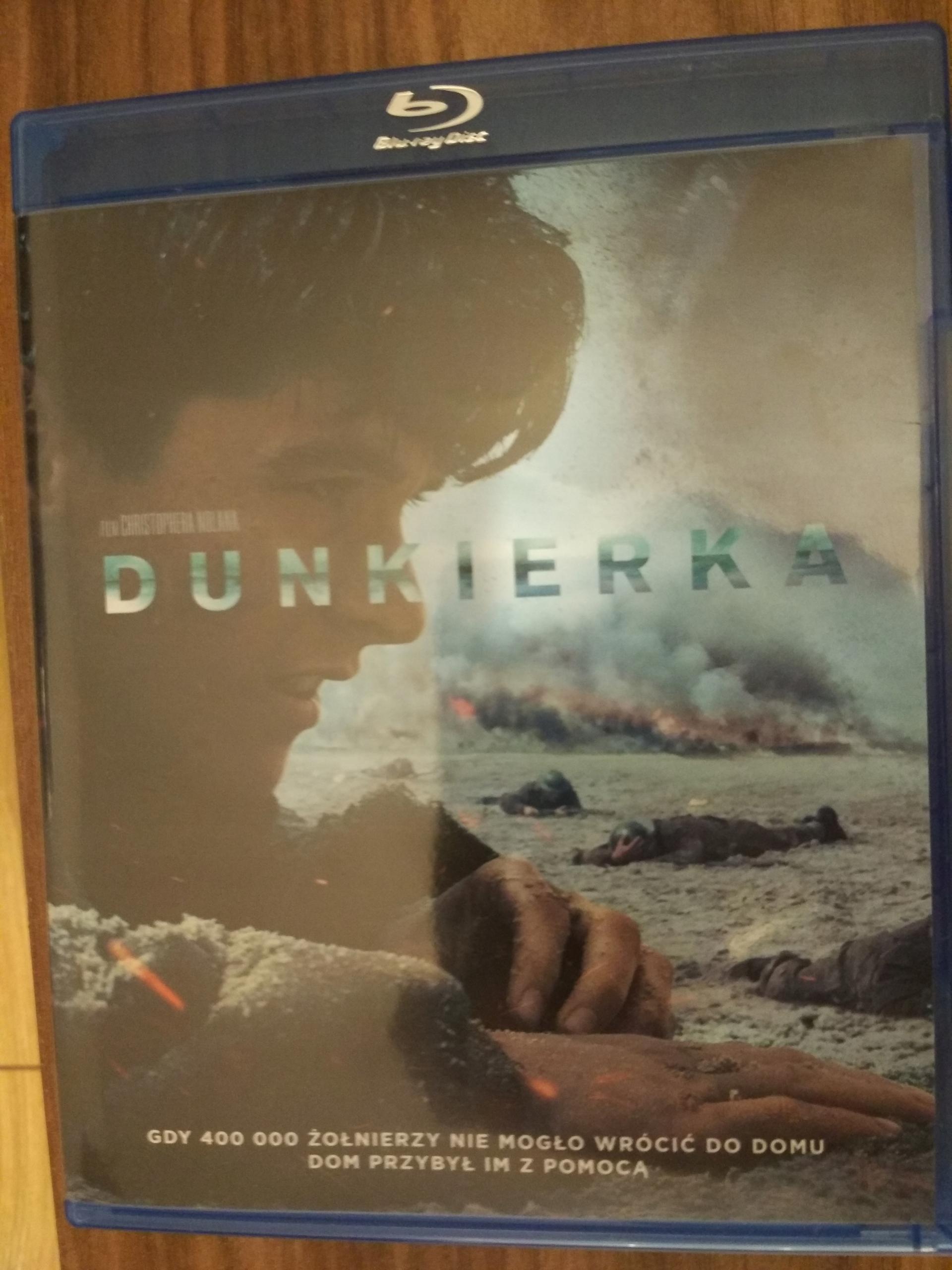 DUNKIERKA / DUNKIRK - 2X BLU-RAY PL