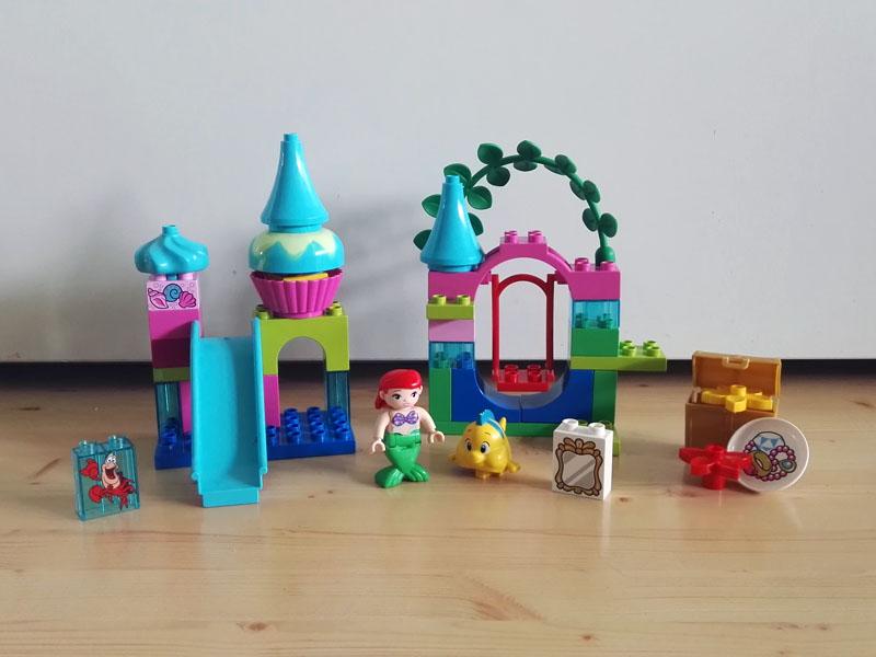 Lego Duplo 10515 Podwodny Zamek Arielki Klocki 7323435401