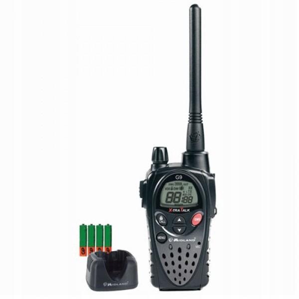 RADIO PMR MIDLAND G9 1 SZT+ŁAD+ACCU