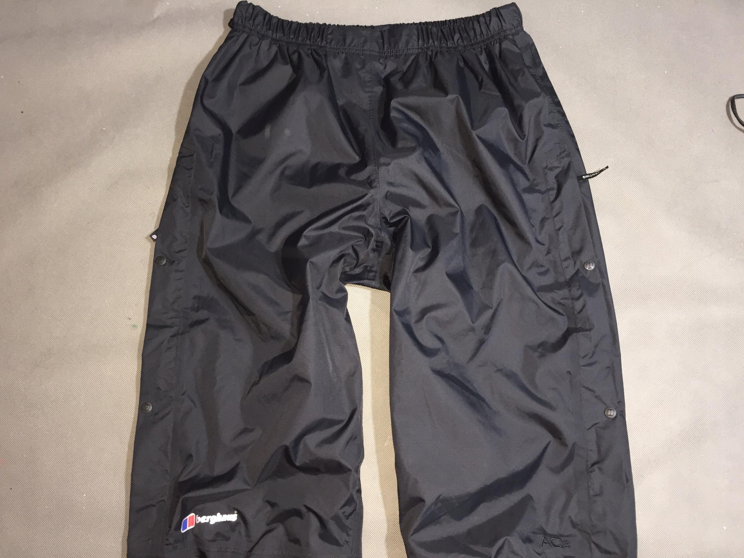 BERGHAUS AQ2 -Męskie Spodnie Wodoodporne-XL /nowe