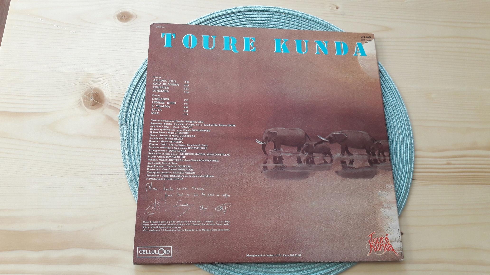 UNIKAT !!! TOURE KUNDA-AMADOU-TILO_lp