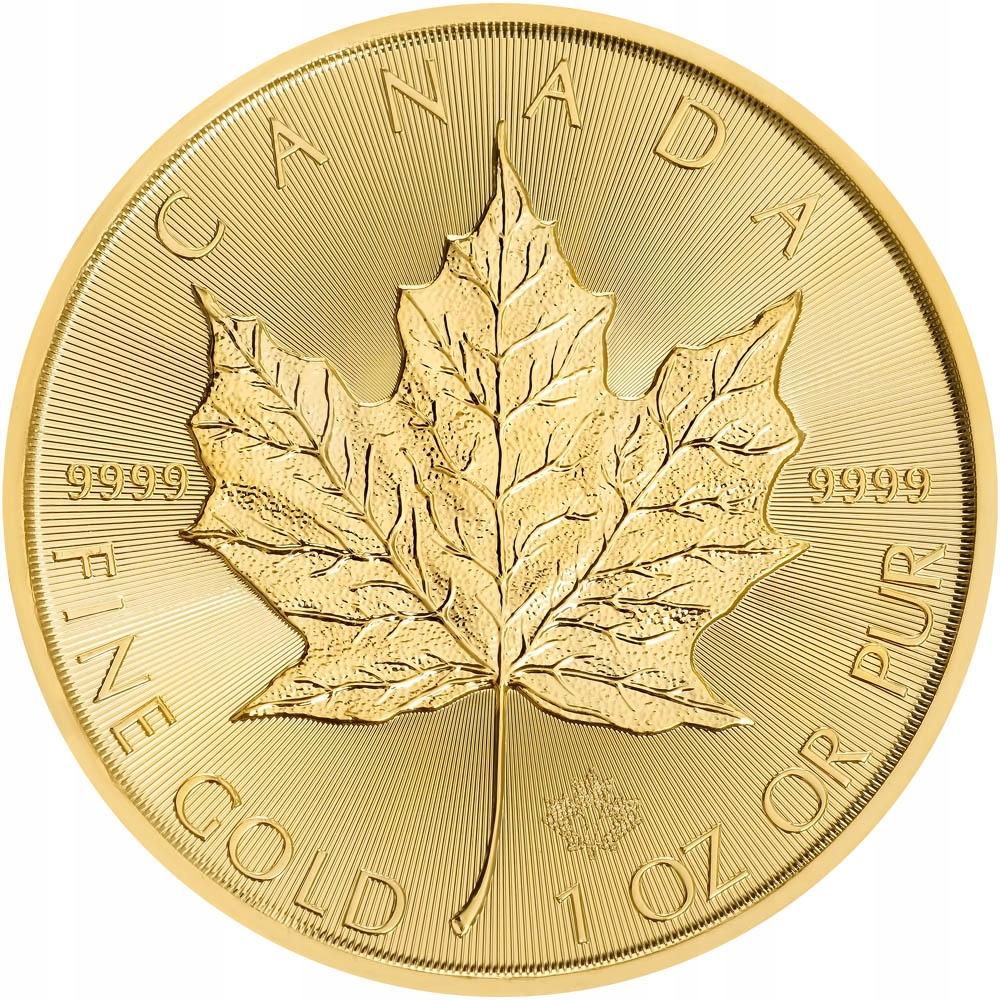 Liść Klonowy 1 oz - Złota moneta bulionowa