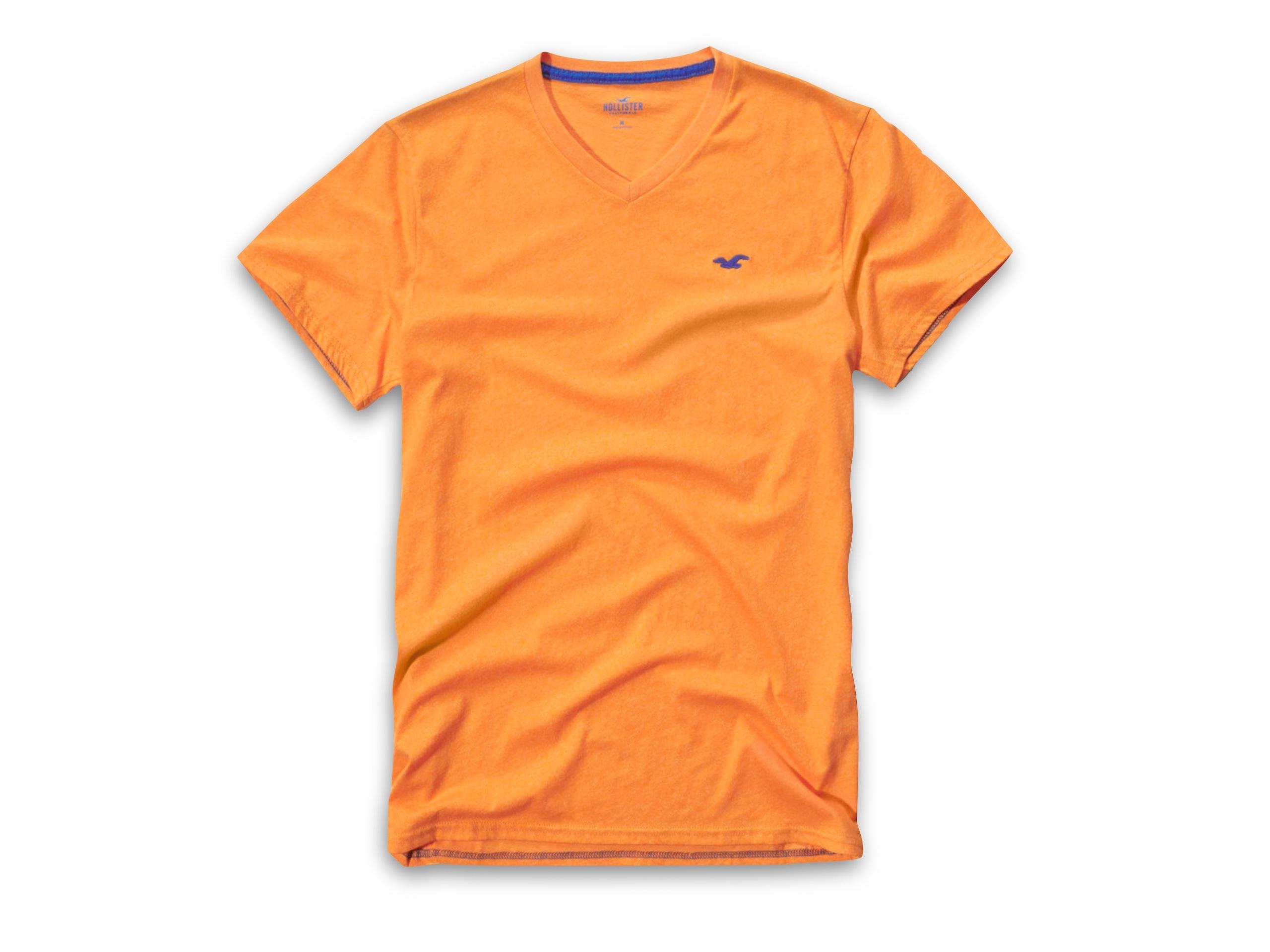 hollister abercrombie t-shirt koszulka v-neck M