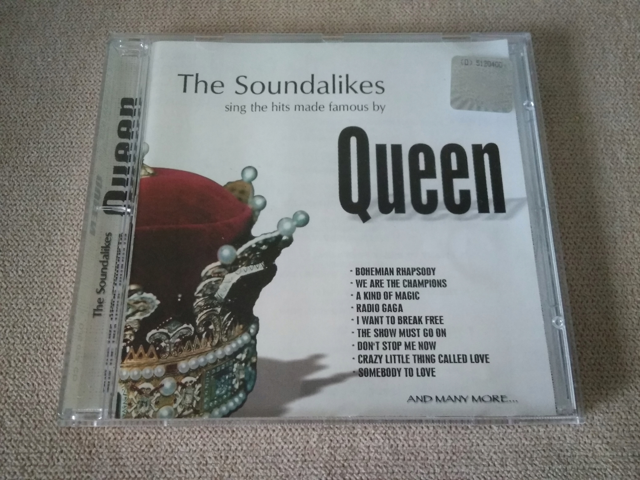 QUEEN THE SOUNDALIKES CD BCM !