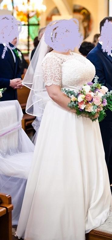 Plus Size Suknia ślubna Szyta Na Miarę U Krawcowej 7543450329