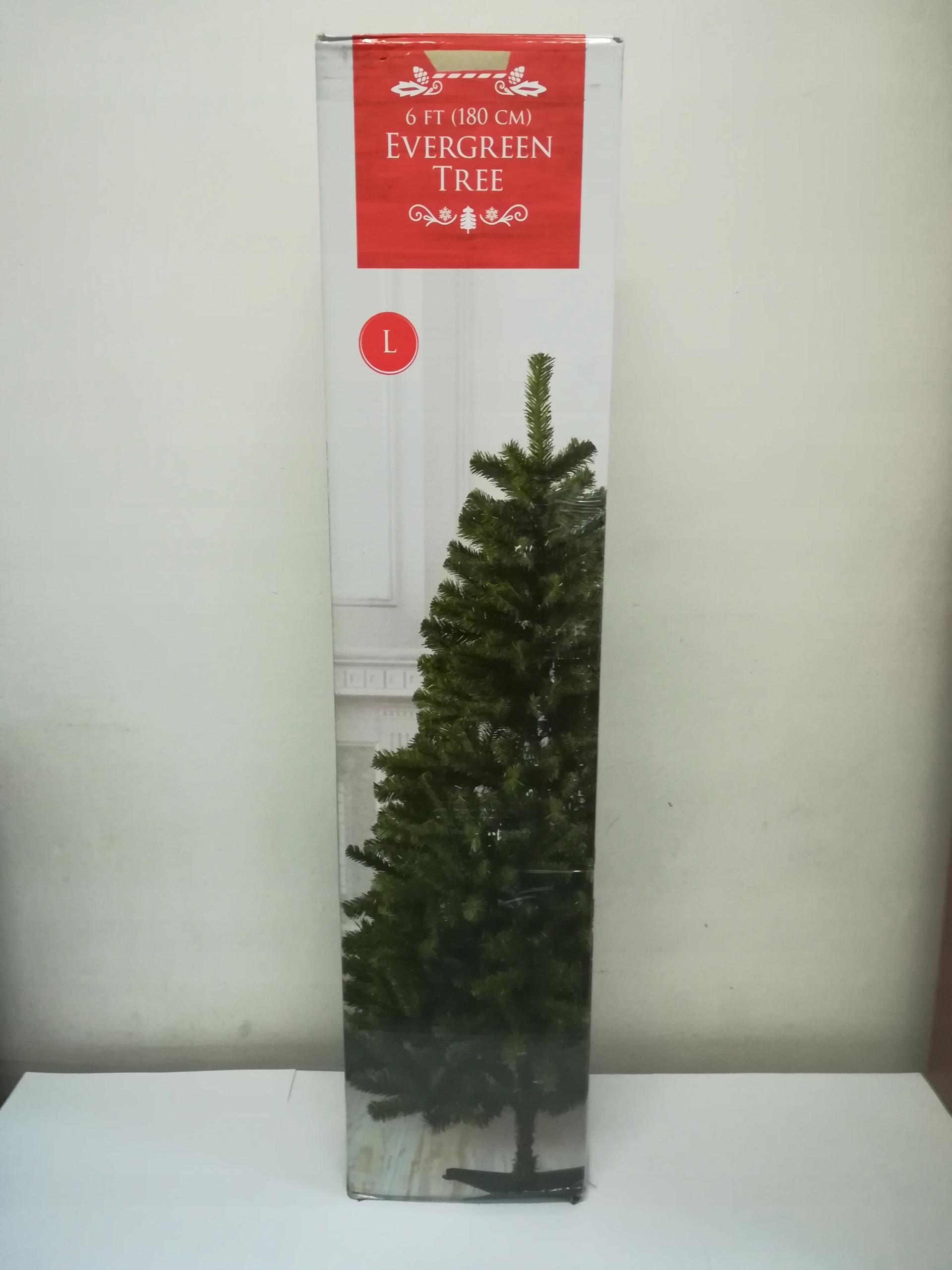 CHOINKA sztuczna EVERGREEN TREE 180CM gęsta stojak
