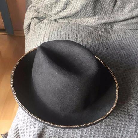 Zara - czarny kapelusz