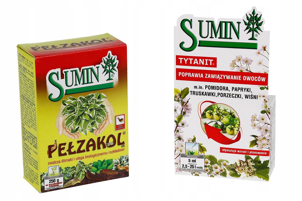 TRUTKA PEŁZAKOL na ślimaki 250g Sumin+Tytanit 5ml