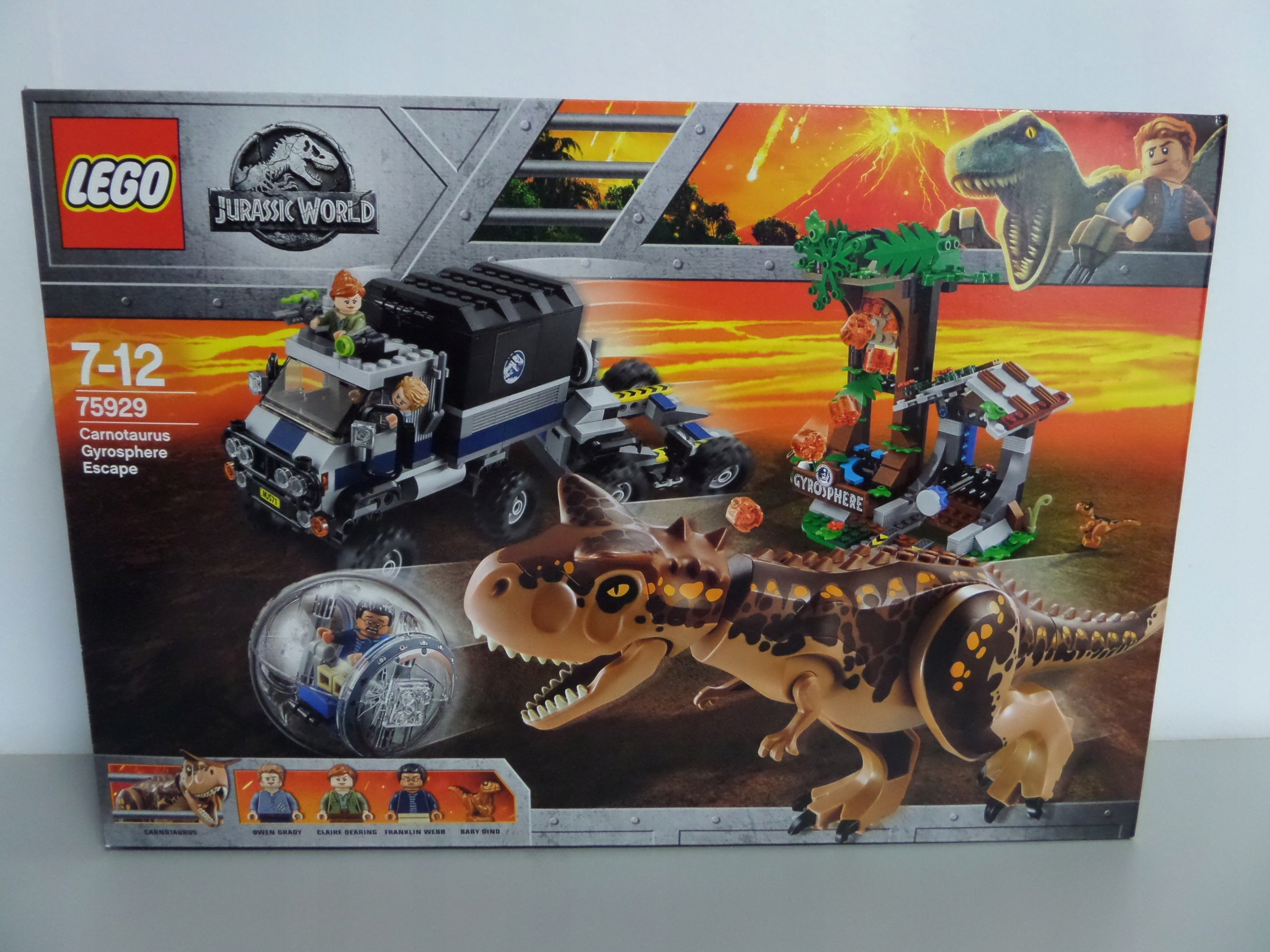LEGO 75929 JURASSIC WORLD ! 48453T