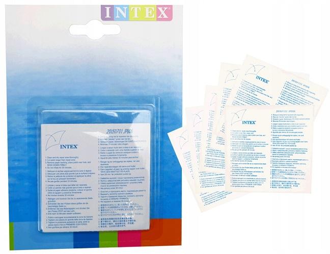 Łatki naprawcze samoprzylepne INTEX basen materac