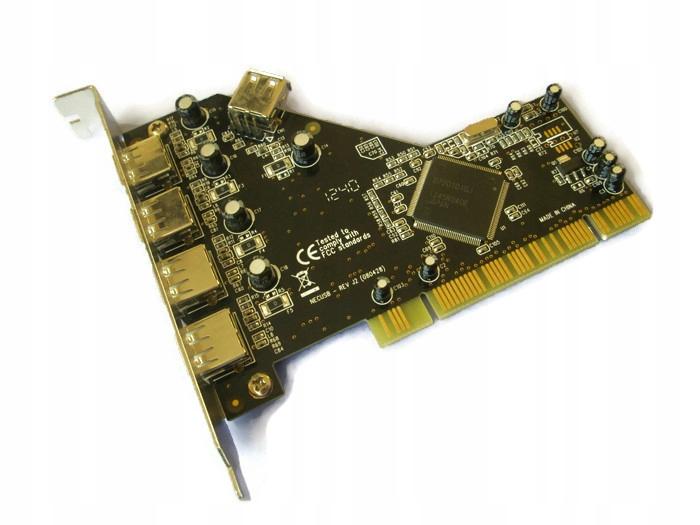 Kontroler USB Conrad 5 x USB 2.0 PCI NEC D720101