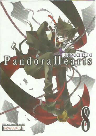 JUN MOCHIZUKI PANDORA HEARTS 8