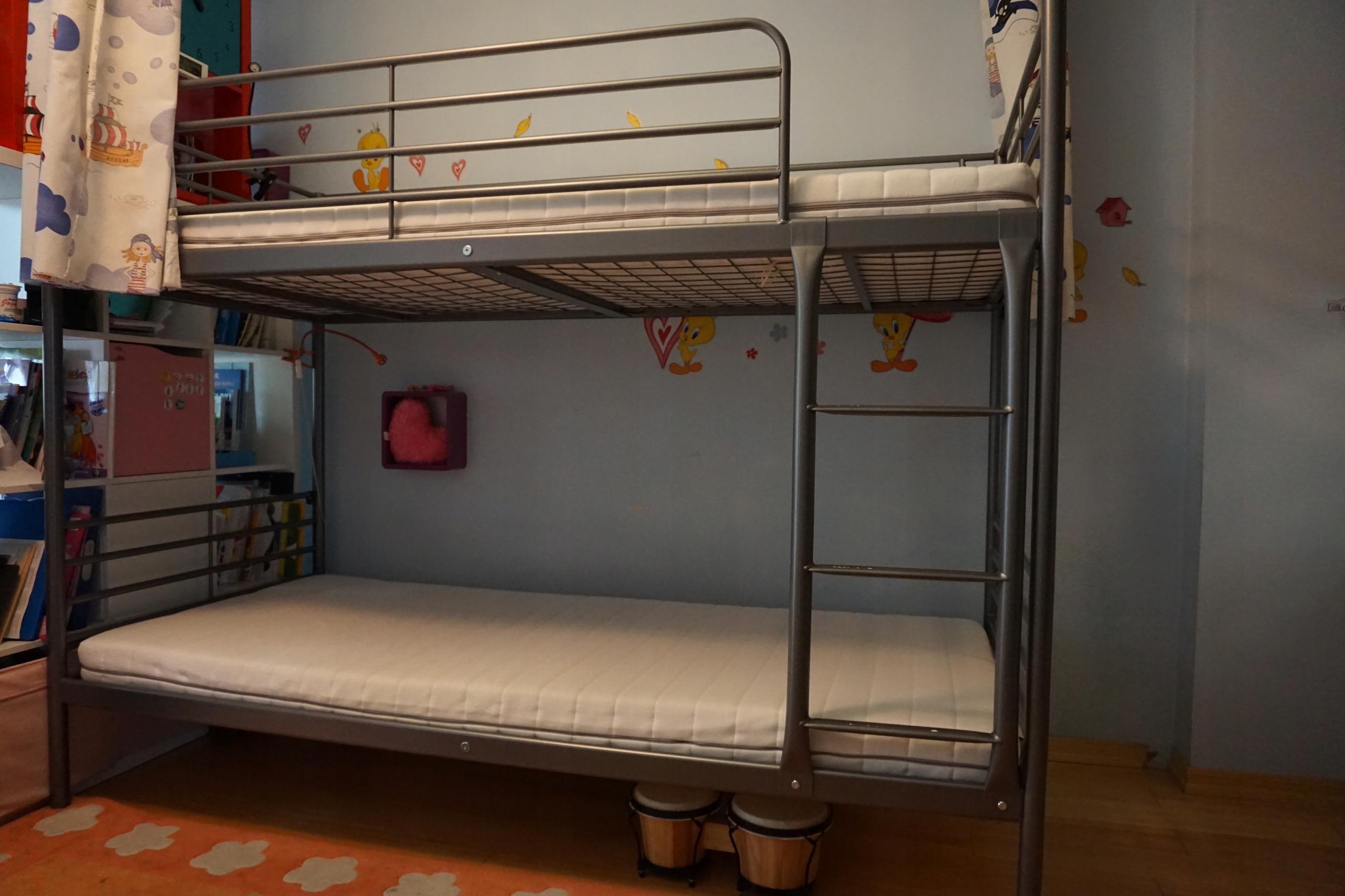 łóżko Piętrowe Ikea Materace Warszawa 7785135859