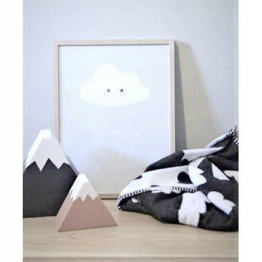 Farg Form chmurki koc dwustronny Zara Home H&M