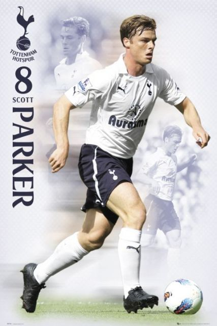 Tottenham Hotspurs Parker 11/12 - plakat