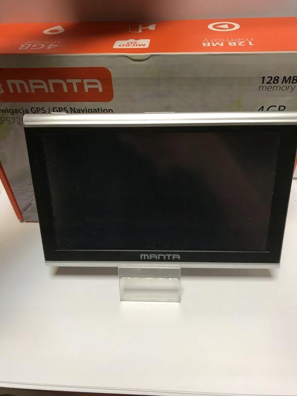 MANTA GPS720 EASY RIDER /KOMPLET /POLECAM
