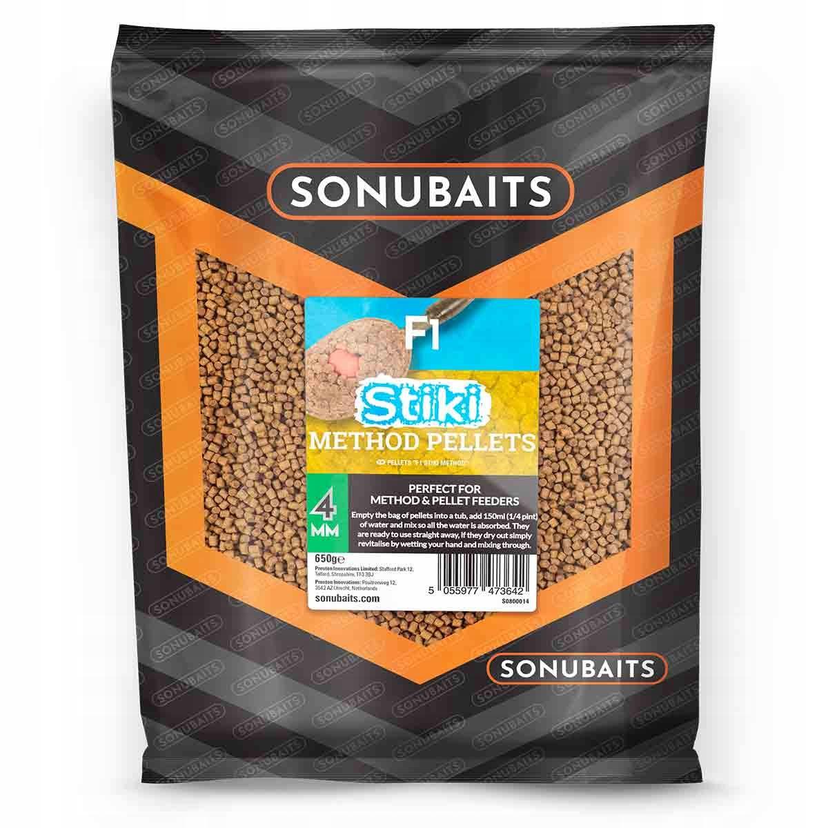 Sonubaits pellet F1 Stiki Method Pellet 4 mm