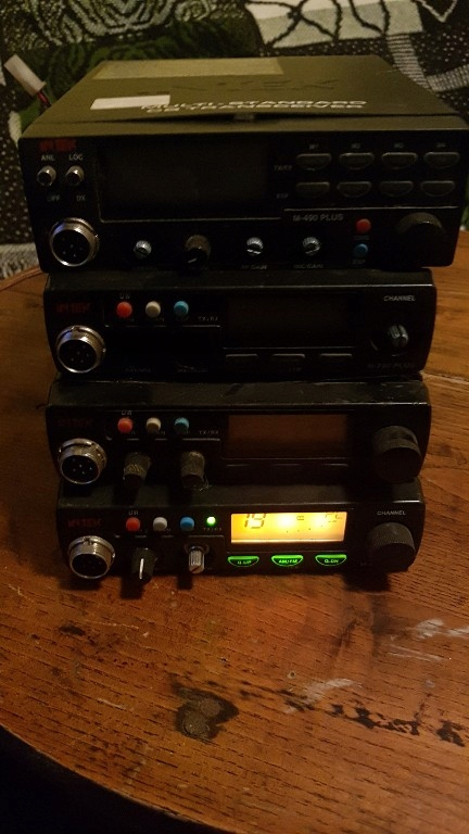 CB Radio Intek M-790 plus 3szt. i M-490 plus
