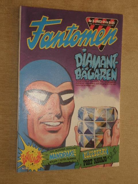 WYPRZEDAŻ KOMIKS FANTOMEN Nr3 1982r. SWEDEN