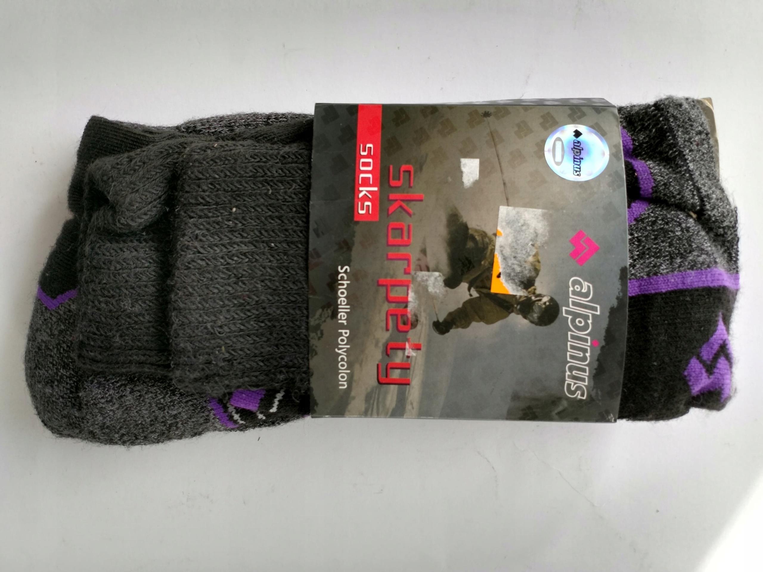 Skarpety Alpinus trekkingowe r. 45/47