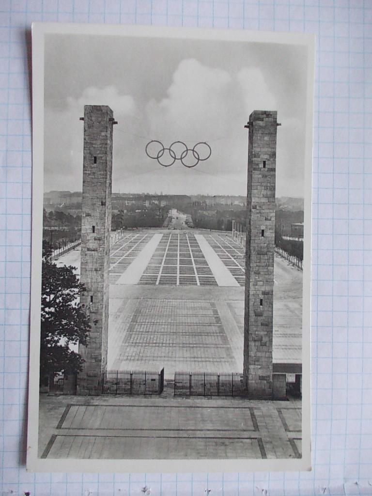 AN3 BERLIN OLIMPIADA 1936 BRAMA B506