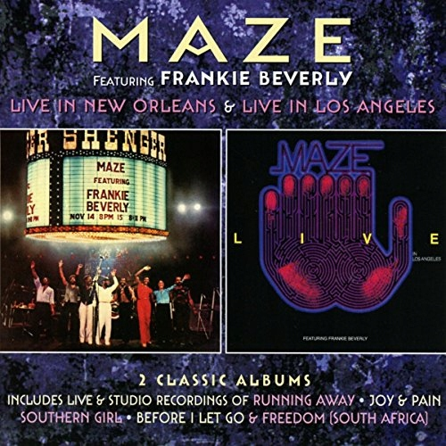 CD Maze - Live In New.. -Deluxe- .. Live In Los An