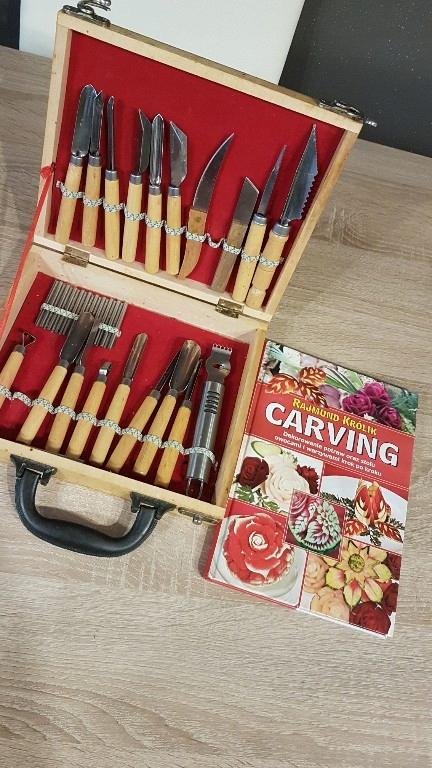 carving zestaw do rzeźbienia książka gratis