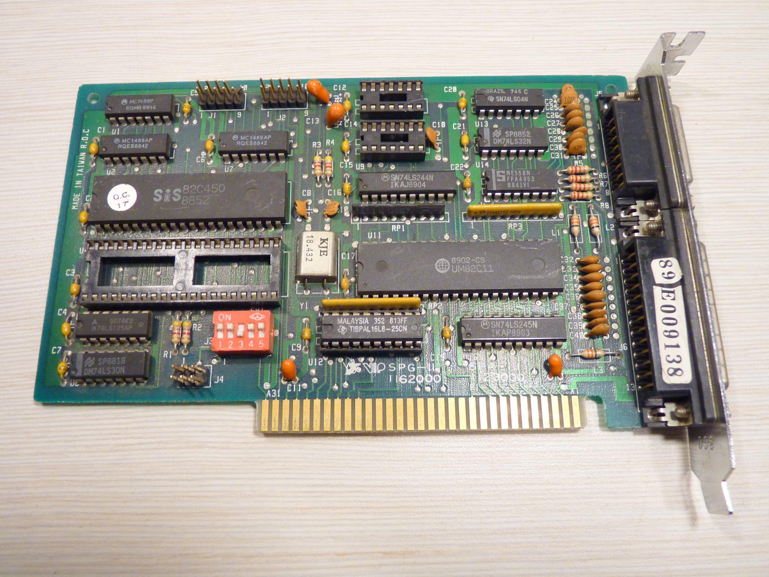 KONTROLER SIS 82C450 2 X COM, LPT, GAME ISA