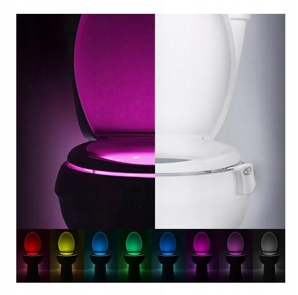 Oświetlenie Led Do Muszli Wc 8 Kolorów E928