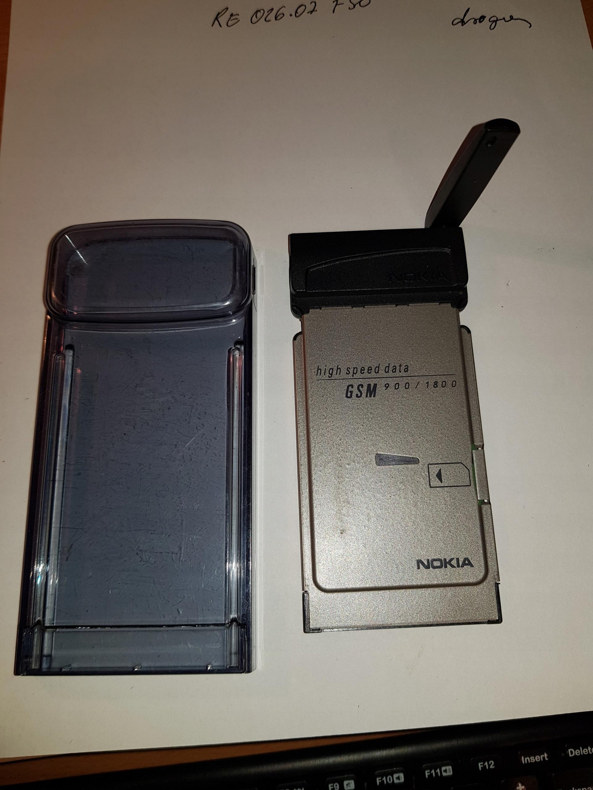 Karta PCMCIA Nokia RPM-1 do laptopów