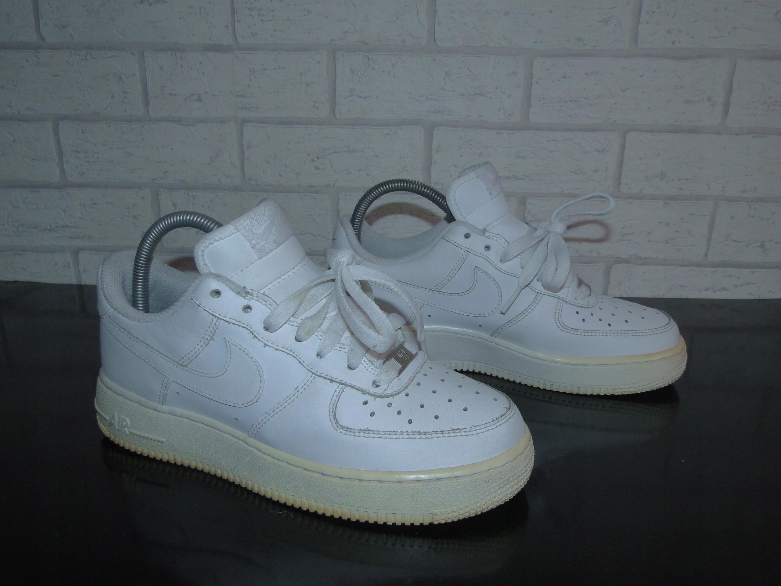 Buty Młodzieżowe Nike Air Force 1 Low (GS) Białe | WorldBox