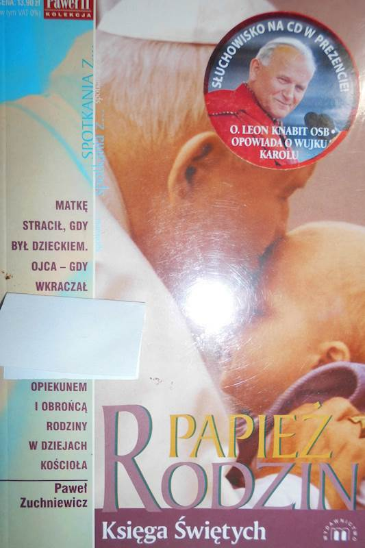 Papież Rodzin Księga Świętych Nr - Zuchniewicz 24h